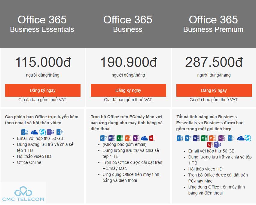 Office 365 Da Nang