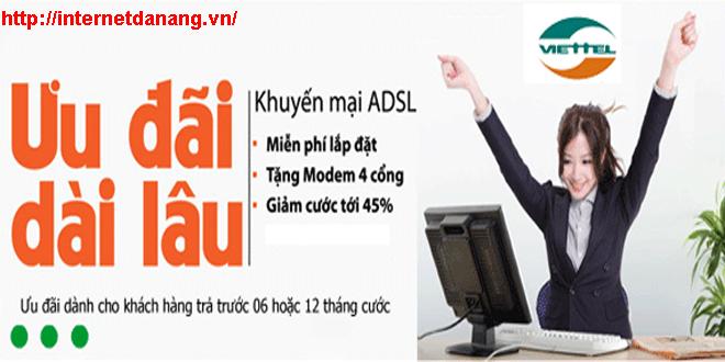 Internet viettel khuyến mãi tháng 012017 tại Đà Nẵng