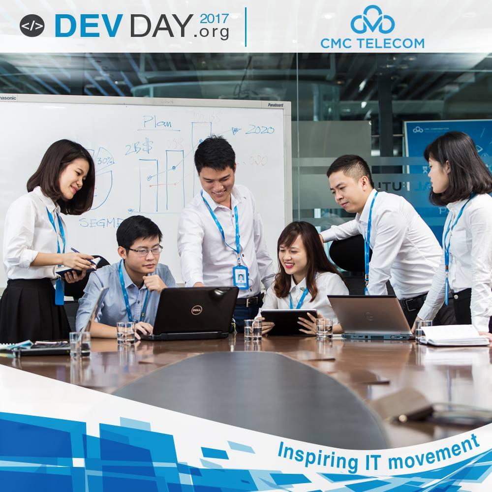 CMC Telecom Đà Nẵng nhà tài trợ vàng cho Devday 2017