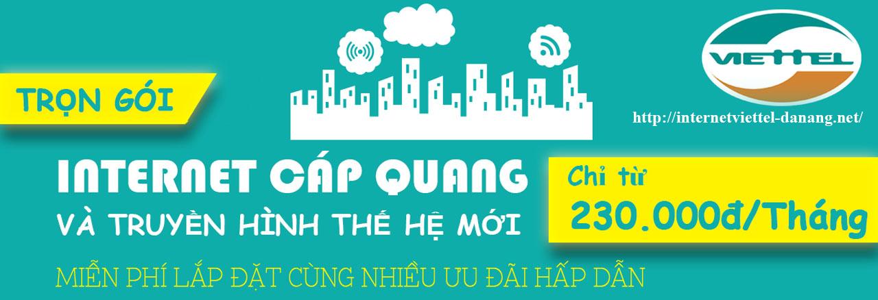 Lắp đặt internet cáp quang viettel miễn phí tại Đà Nẵng