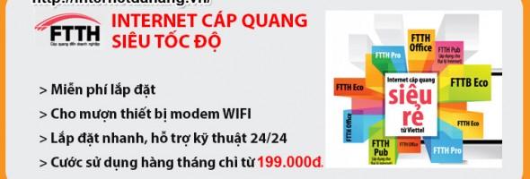 Khuyến mãi internet viettel tại Đà Nẵng