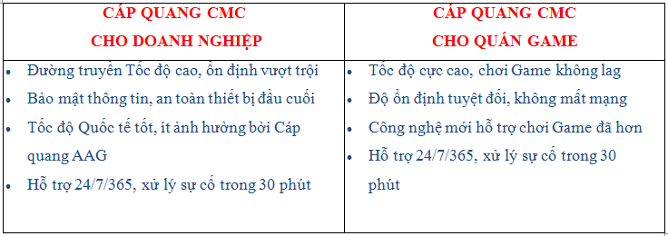 cap quang cmc