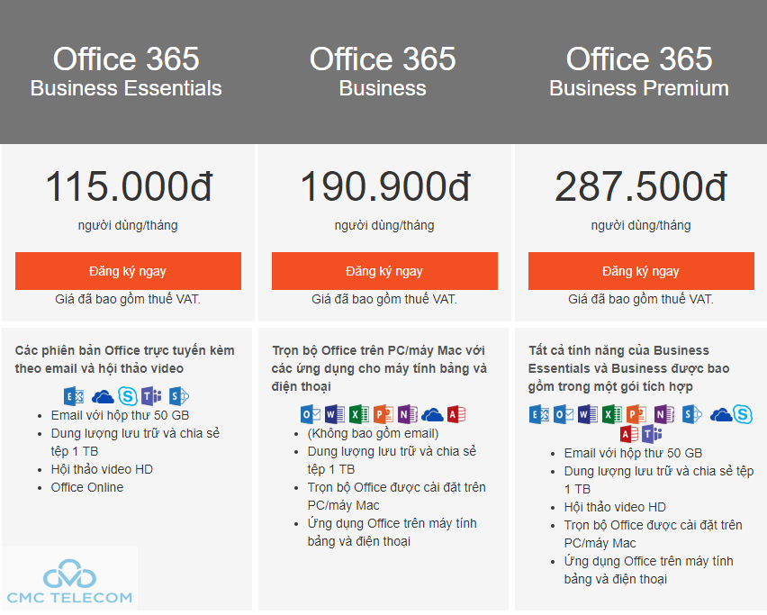 Office 365 Da Nang